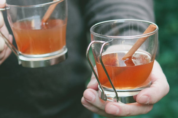 Leave out the brandy and the kids can enjoy a glass, too. Recipe here.