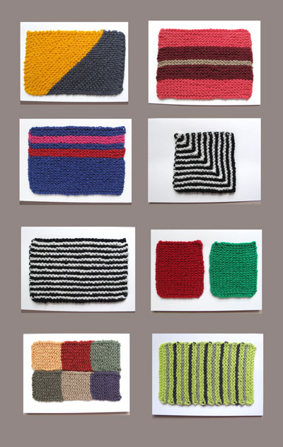 Knit (or crochet!) greeting cards.
