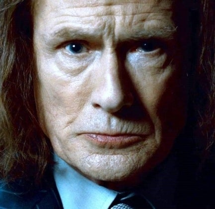 As Rufus Scrimgeour in Harry Potter