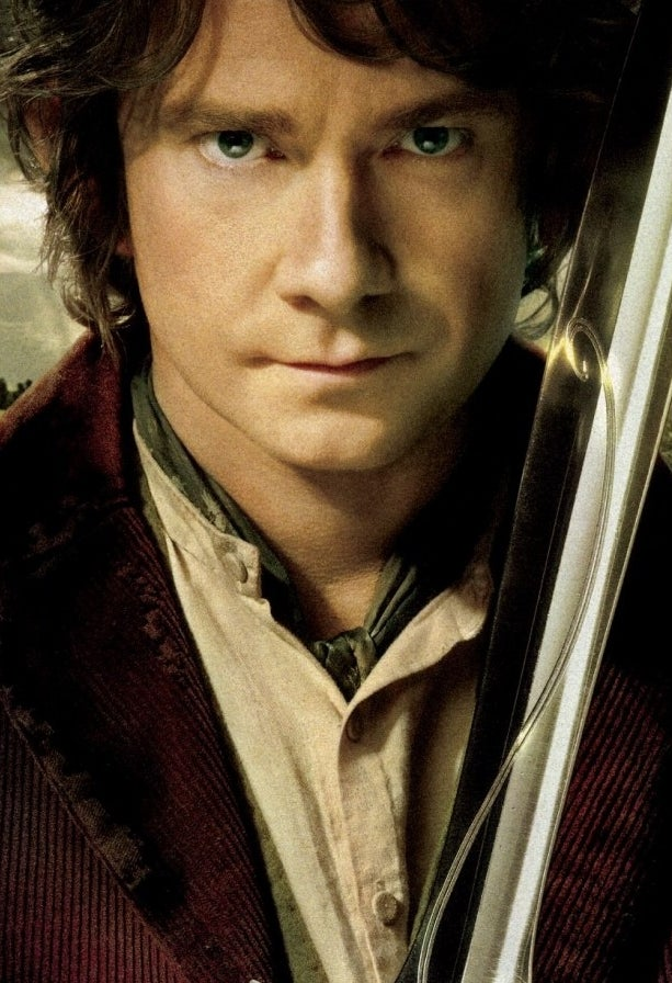As Bilbo Baggins in The Hobbit: An Unexpected Journey