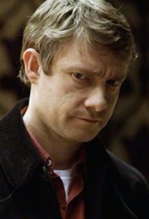 As John Watson on Sherlock