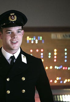 As Midshipman Frame on Doctor Who