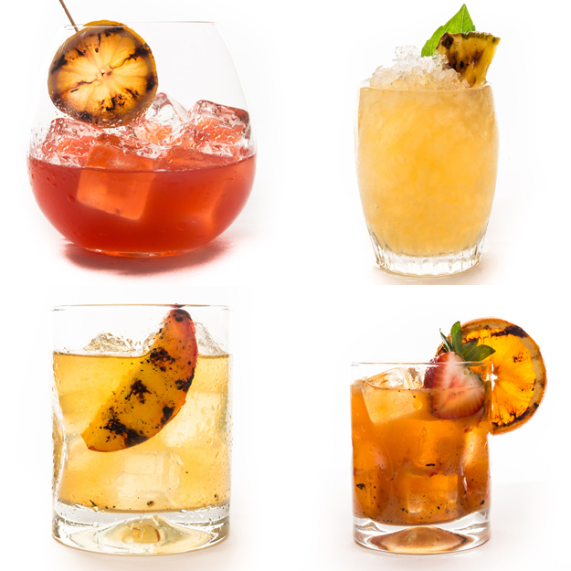 Grill a cocktail.