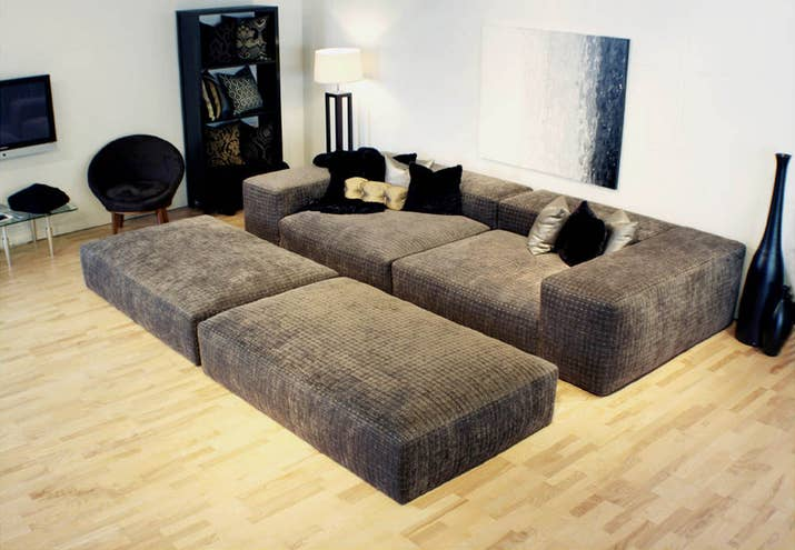 It don t need to be pretty  it just needs to get the job. 19 Couches That Ensure You ll Never Leave Your Home Again