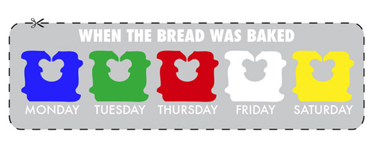 You're grateful someone invented this system so you can get all your delicious bread in its freshest glory.