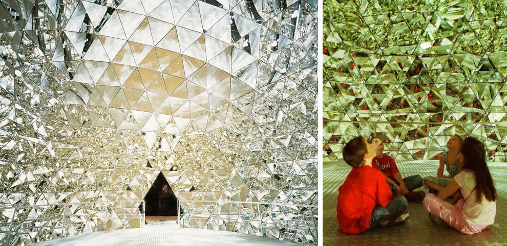 Domo de cristal en Swarovski Kristallwelten