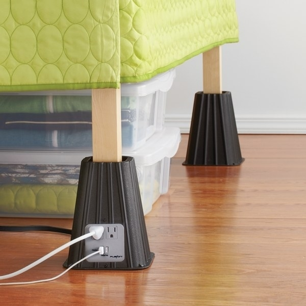 Increase Your Under The Bed Space And Your Outlet Access.Available Here.