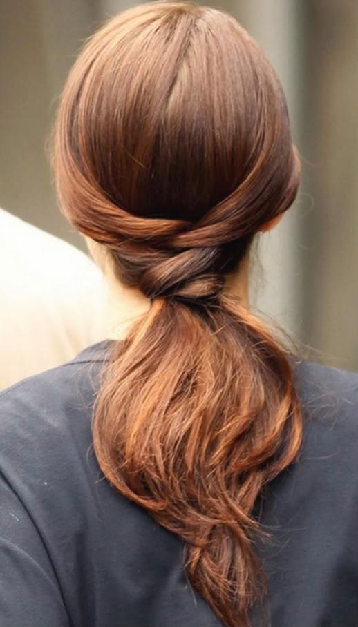 Prime Cute Ways To Do Short Hair In A Ponytail Short Hair Fashions Short Hairstyles Gunalazisus