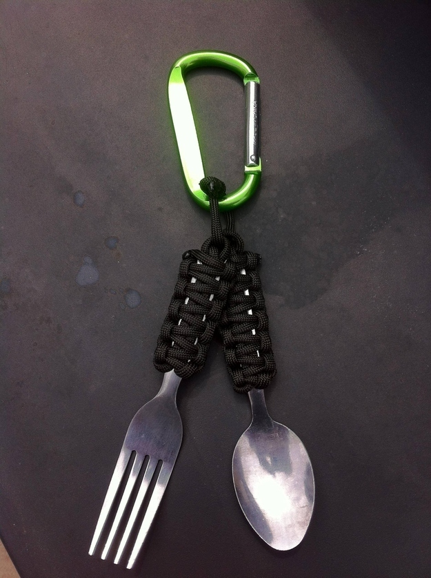 Fashion your own portable utensils.