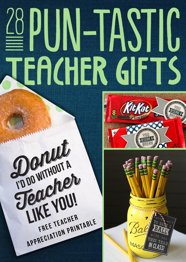 image regarding You Deserve a Break Printable called 28 Pun-Tastic Trainer Presents
