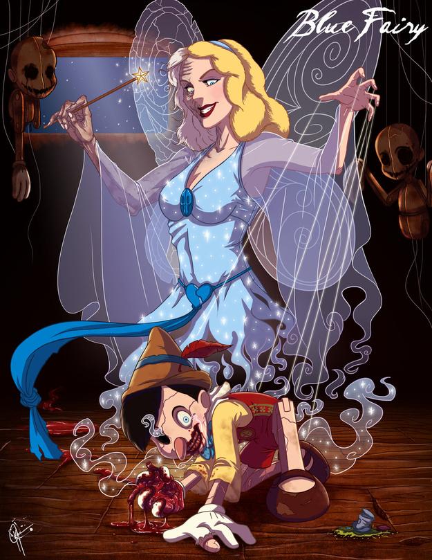 Blue Fairy - Pinocchio