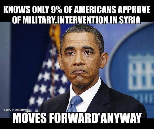 The Best Of The Internet's Reaction To Obama's Plans To Bomb Syria