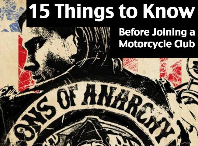 15 Things You Should Know Before Joining A Motorcycle Club