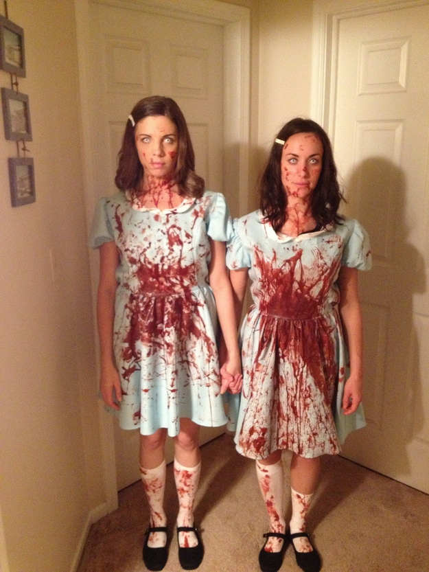 The Grady Twins  sc 1 st  BuzzFeed & 41 Two-Person Costumes That Will Up Your Halloween Game