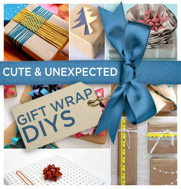 363d82ed3 24 Cute And Incredibly Useful Gift Wrap DIYs