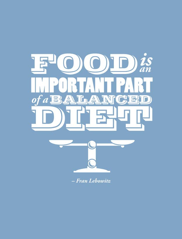 24 Best Quotes Ever About Food