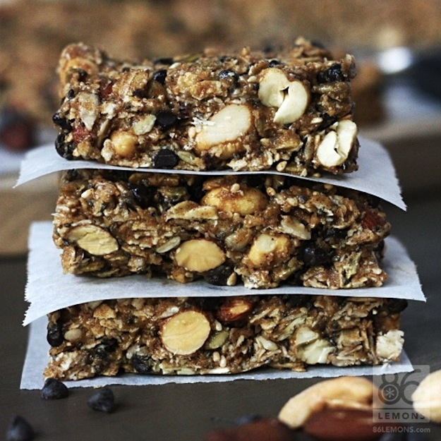 Friday Breakfast: Chocolate Peanut Butter Breakfast Bars