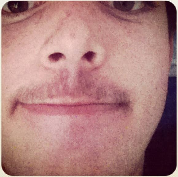 Nearly goodbye for attempted #movember #goodtry #looklikeafrog #poor effort #maybe #next #year