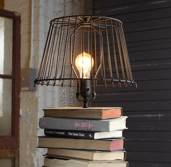 Use old books as a base.