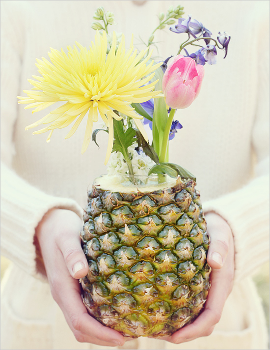 You could also use a pineapple:
