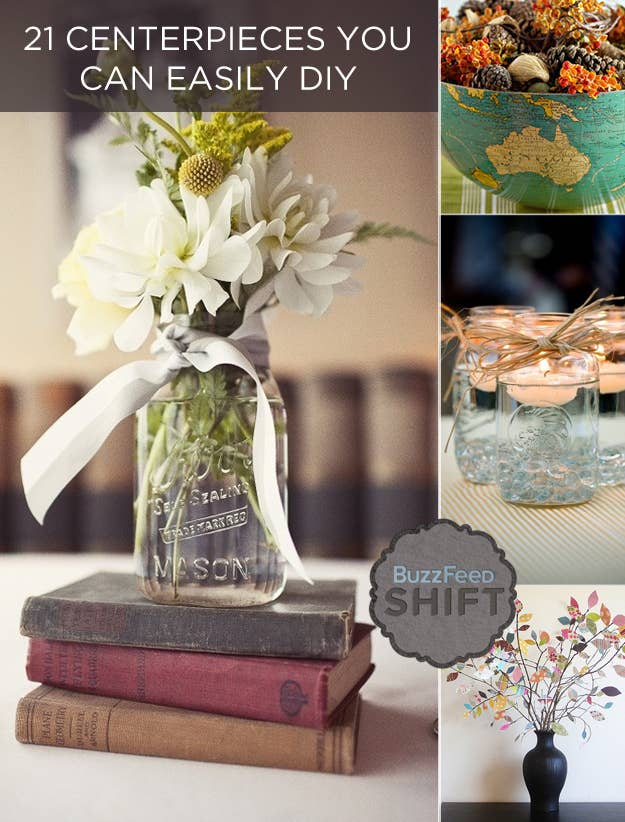 Beautiful vintage wedding centerpieces do it yourself