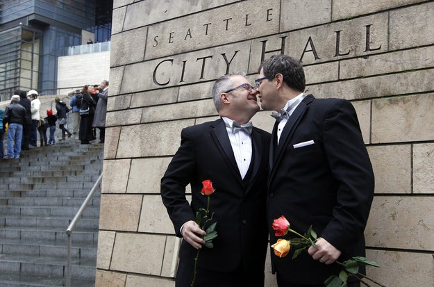 Gay and lesbian couples can marry in Washington and several other states, but Montana same-sex couples were dealt a setback in a Montana Supreme Court fight for equal benefits on Monday.