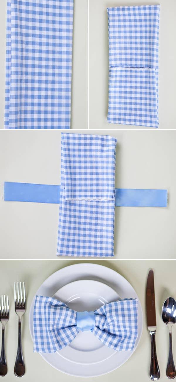 28 Creative Napkin-Folding Techniques | 1300x600
