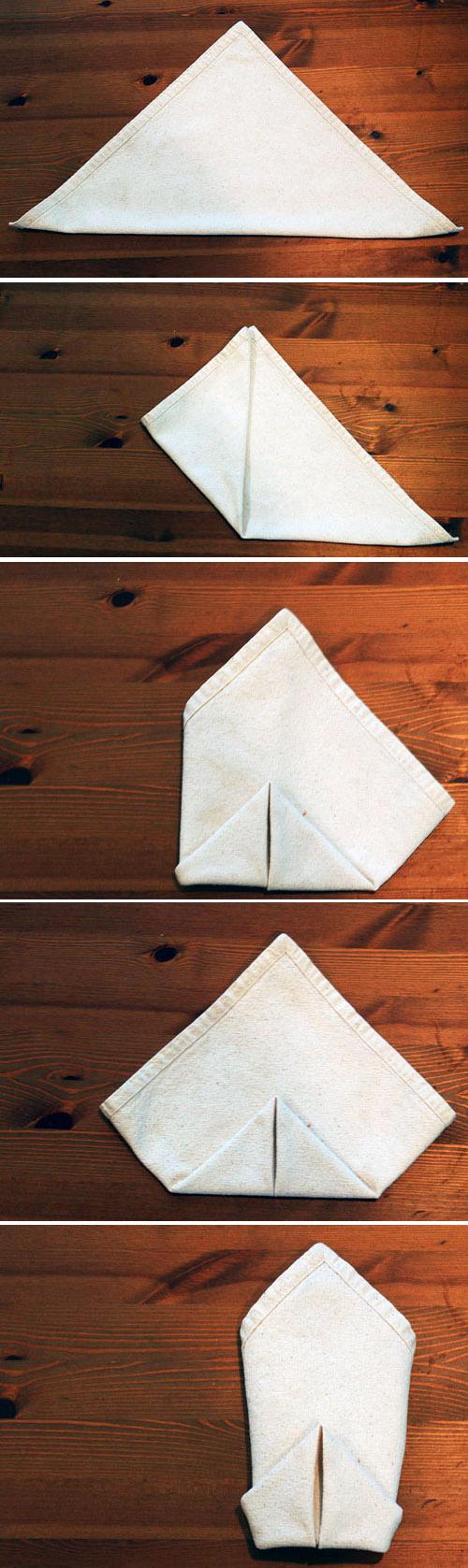 28 Creative NapkinFolding Techniques