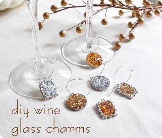 24 clever things to do with wine glasses add a wine glass charm solutioingenieria Images