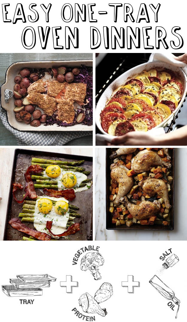 30 Easy One Tray Oven Dinners