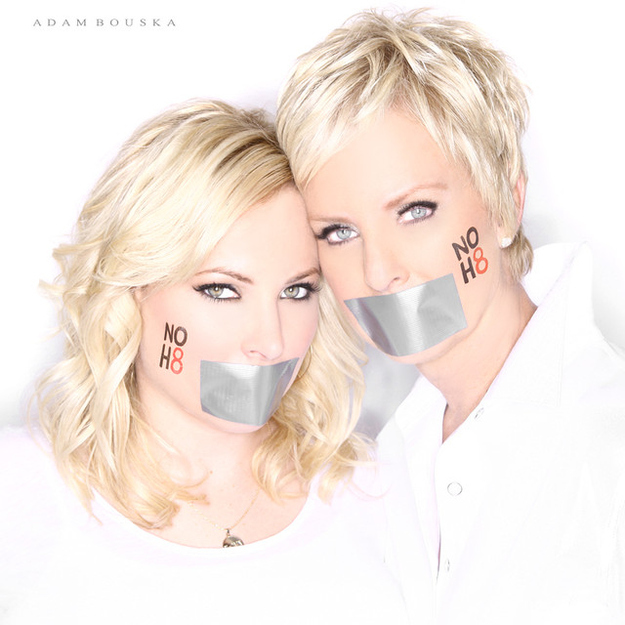 56 Awesome NOH8 Celebrity Portraits