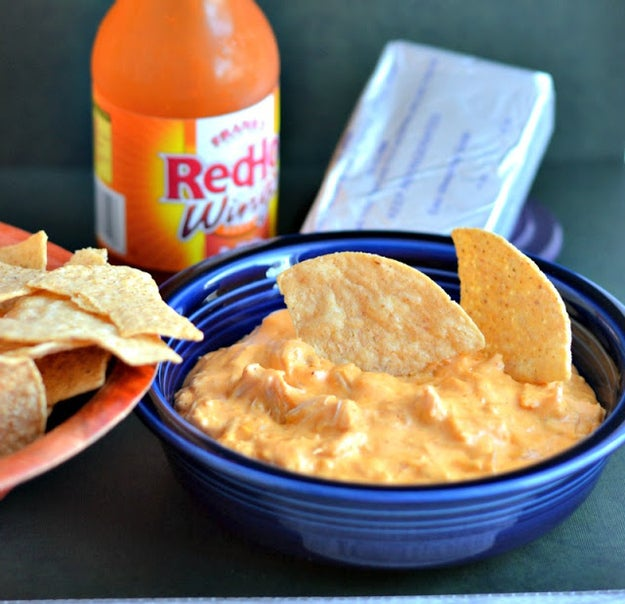 Chicken wings in DIP form? Yes, this is real life. Recipe here.