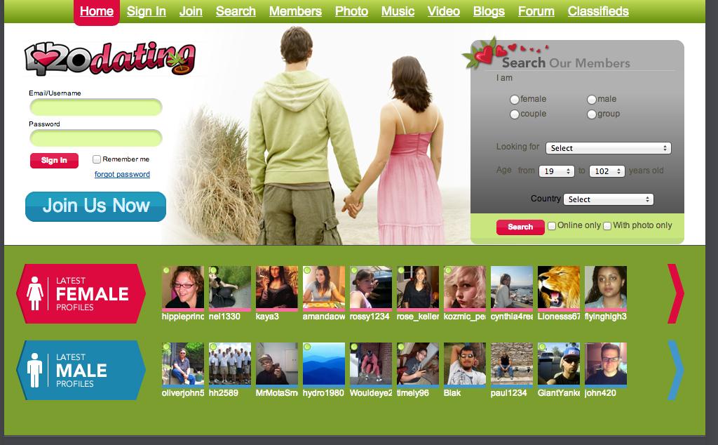 mesh dating