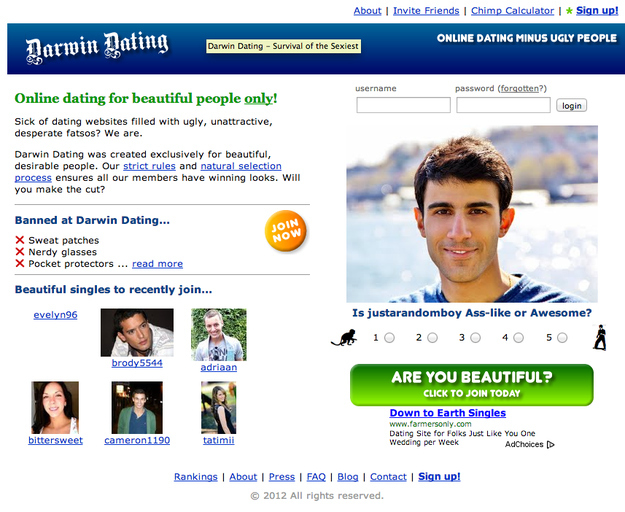 Dating sites for attractive singles