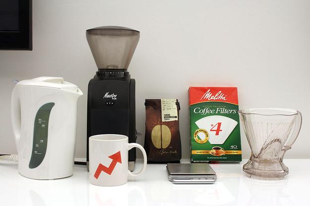 Step 5: Make coffee.