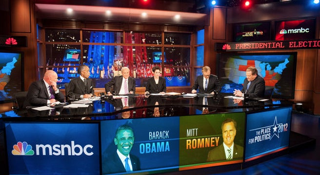 January saw MSNBC up 11% in the 25-54 demo from Jan. 2012.