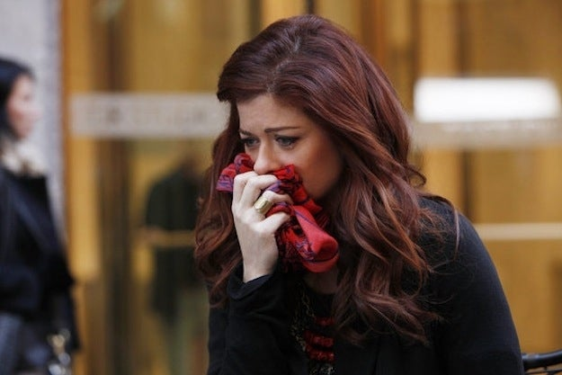 Debra Messing. All images courtesy of NBC unless specified otherwise.