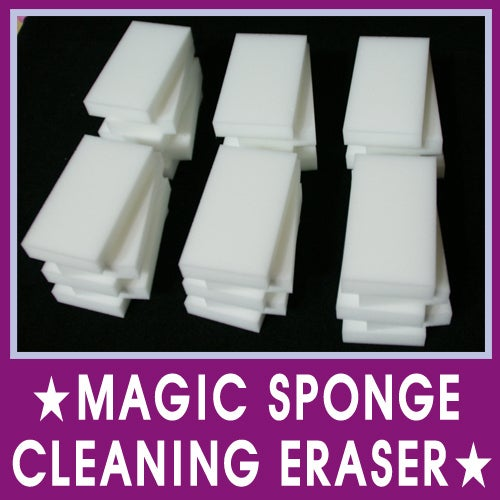 You can get 30 of these for $5.90. Melamine foam is the main component of Magic Erasers.