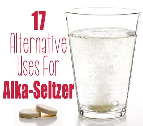 17 uses for Alka-Seltzer.