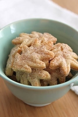 Make cookies with leftover pie crust.