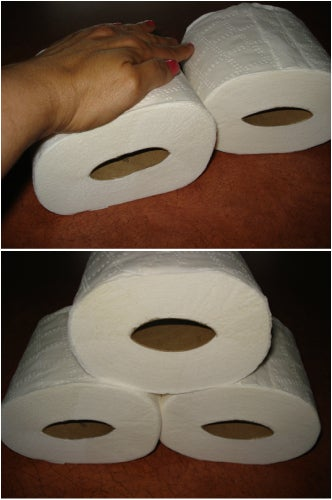 This is especially helpful if you have kids who consistently use too much toilet paper.