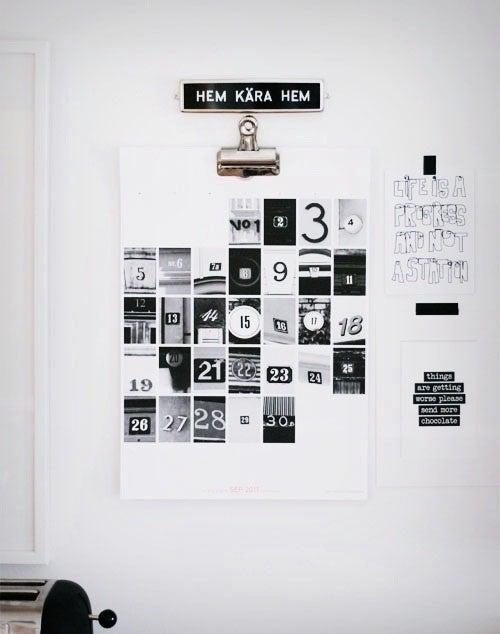 29 Creative Calendars You Can Make Or Buy