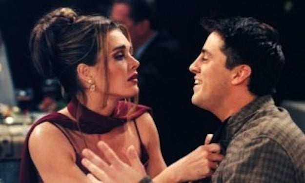 Brooke Shields and Matt LeBlanc.