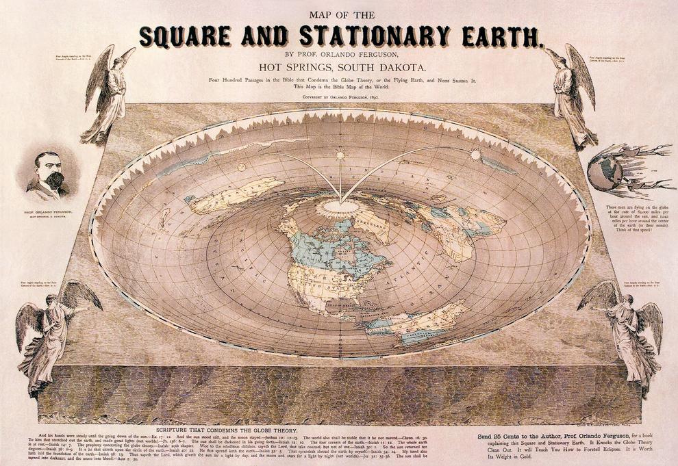 Así podría verse el mundo si no fuera esférico: