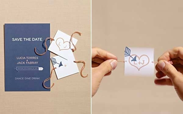 36 cute and clever ways to save the date get the directions here junglespirit Choice Image