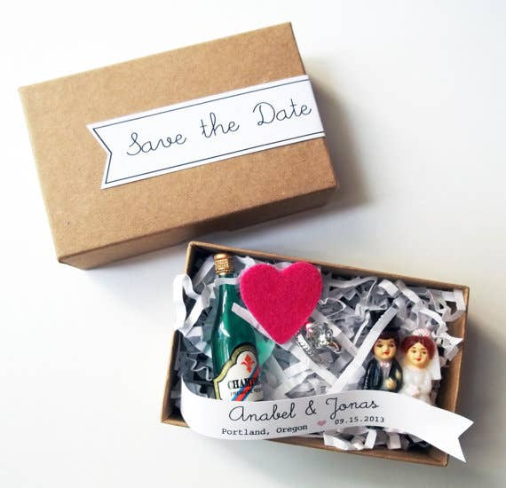 36 Cute And Clever Ways To Save The Date – Save the Date Card Wedding