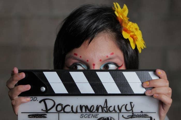 From the film Inocente, winner for Best Documentary Short.