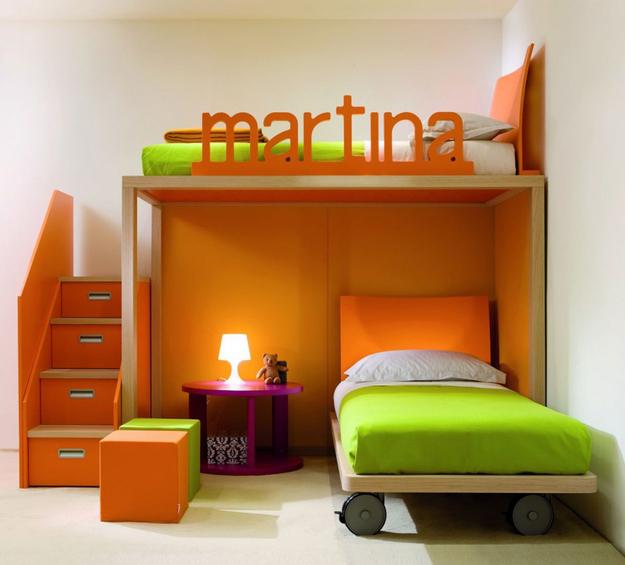 kid loft bed ideas 1