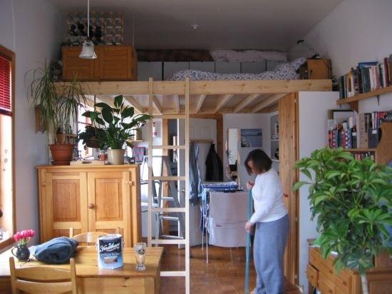 Small Studio Apartment Loft