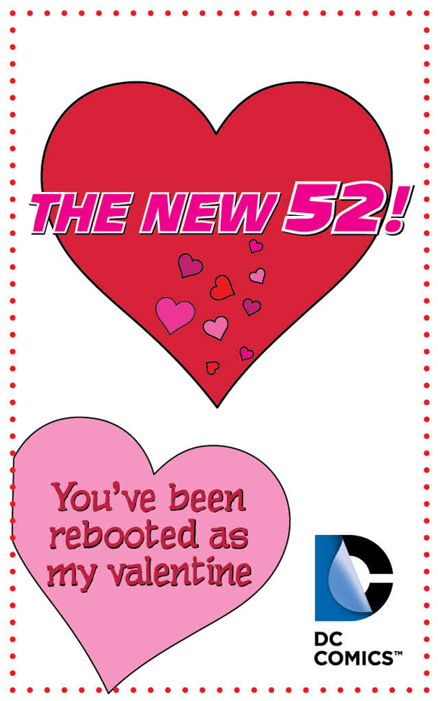 18 Punny Valentine's Day Cards From DC Comics
